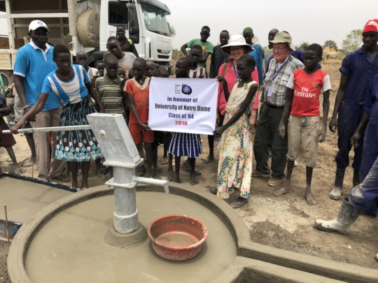 A new well in Majok Kuel Village