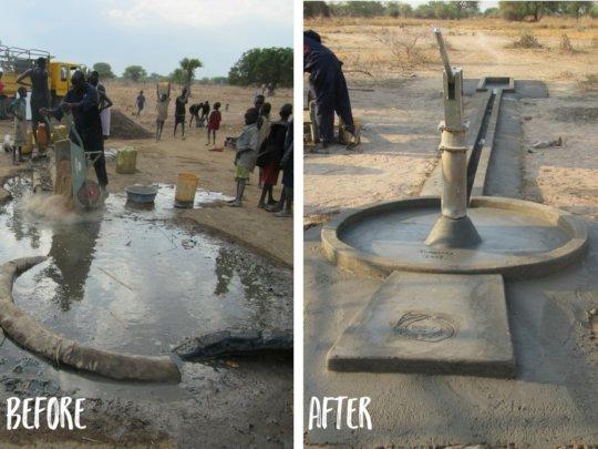 WFSS redesigned the platform around its wells.