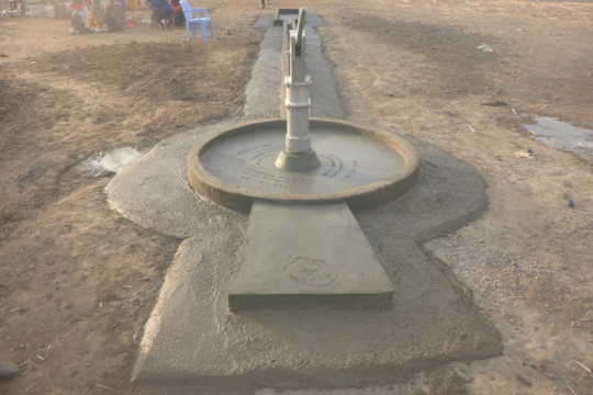 Completed Well, Village of Achir, Tonj State
