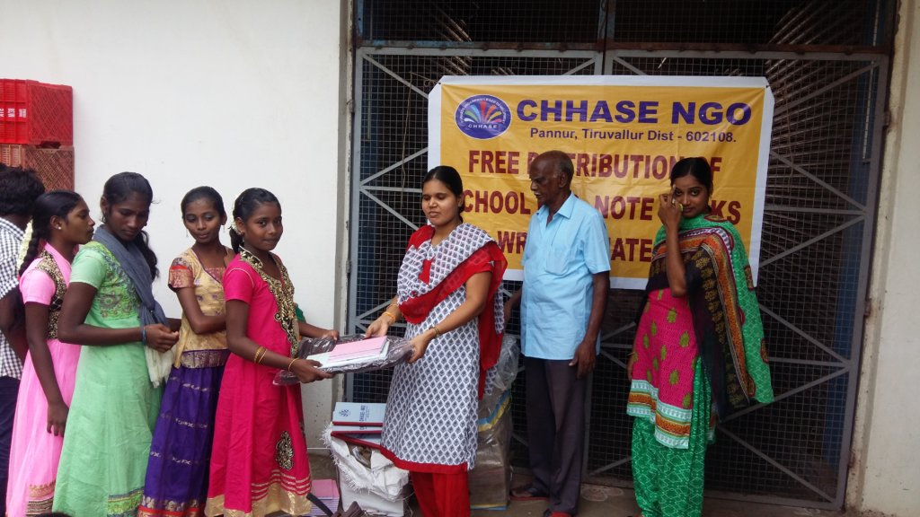 Help to educate orphan rural girl children