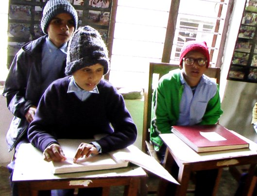 Help educate  visually impaired children