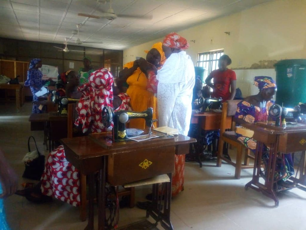 Some Recipients during a Tailoring Training