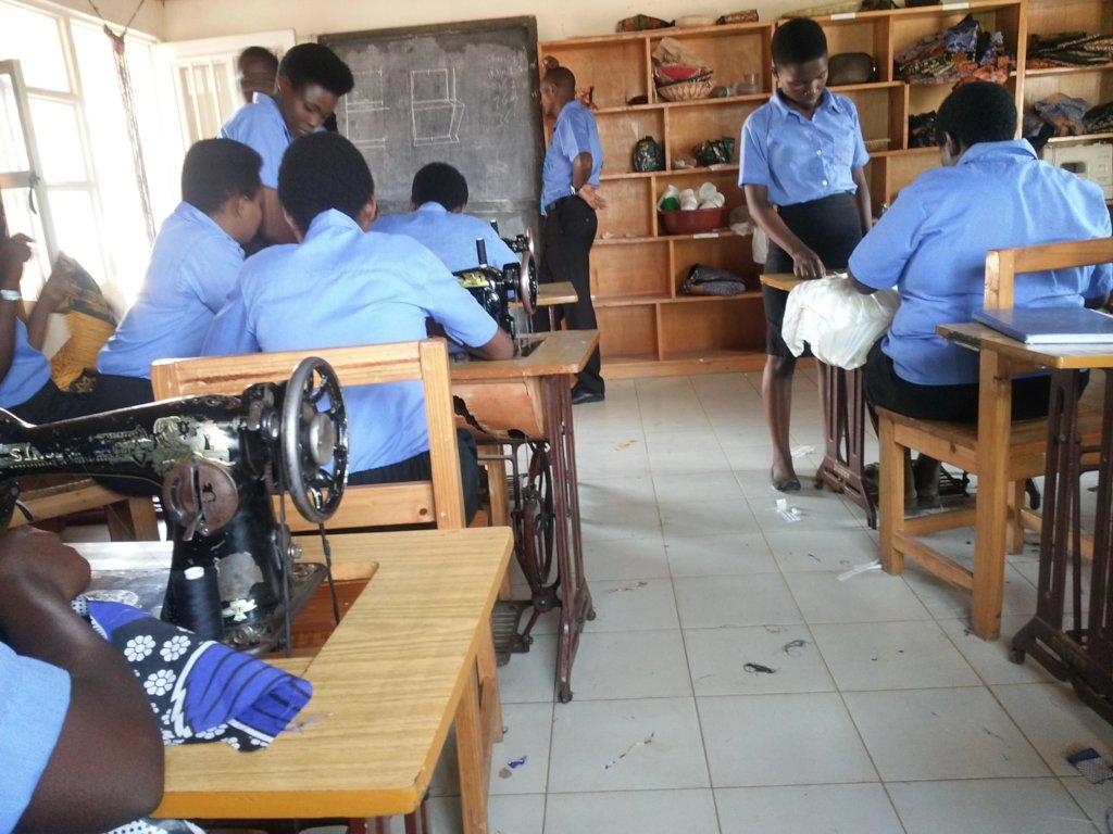 Teach 75 Rwandan Women to Sew Handicrafts