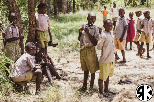 Students of Soko Primary School