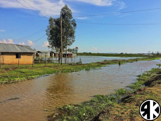 Flooding in the Dunga Community
