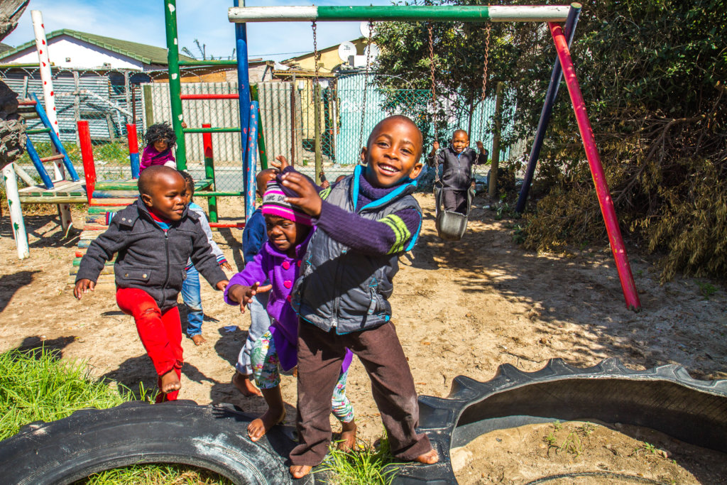 Help Children Deal with Trauma in SA Township