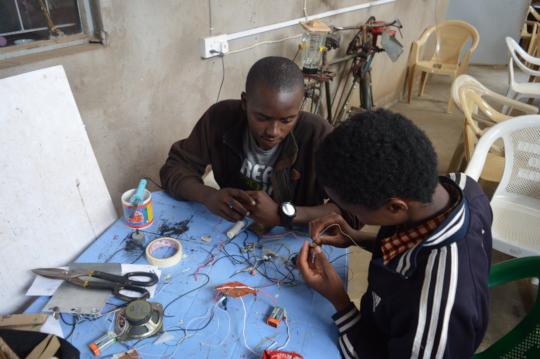 Creative Capacity Building workshop in progress