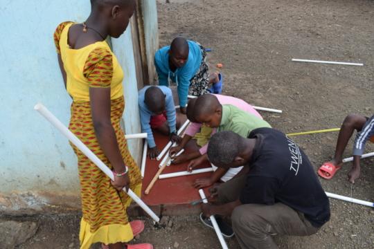 Build-it workshop with Huruma Orphanage Center