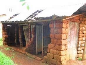 A School Latrine collapsed