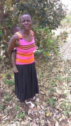 Mutesi Sarah, OVC caregiver