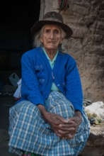 The mother of a disappearance victim in Ayacucho