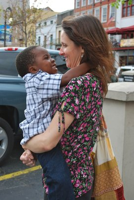 Christopher and Mama