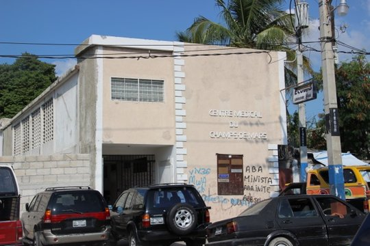 The ophthalmologist office downtown Port-au-Prince