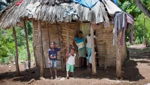 Widline's home in Western Haiti