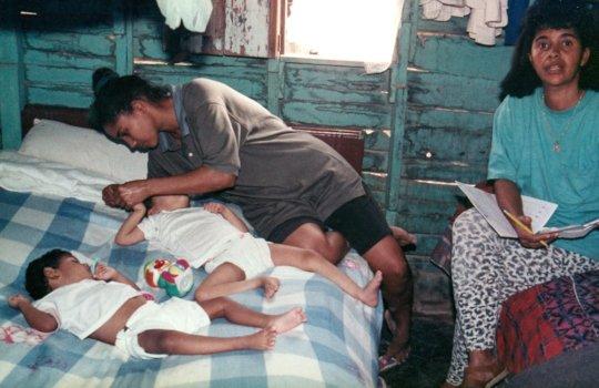 Delfina as a Community Rehabilitation Worker
