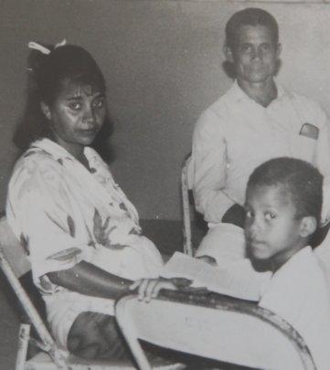 Delfina & Aneudy in 1994