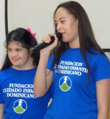 Katherine singing