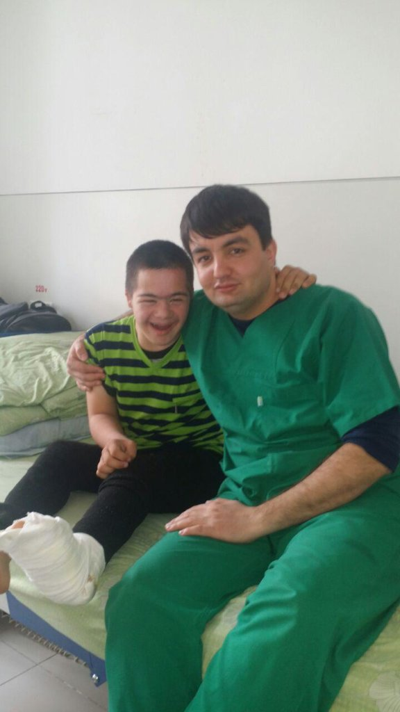 Surgery for people with body defects in Tajikistan
