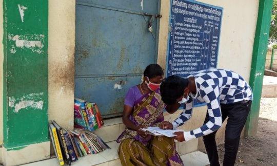 Mobile library with safety measures