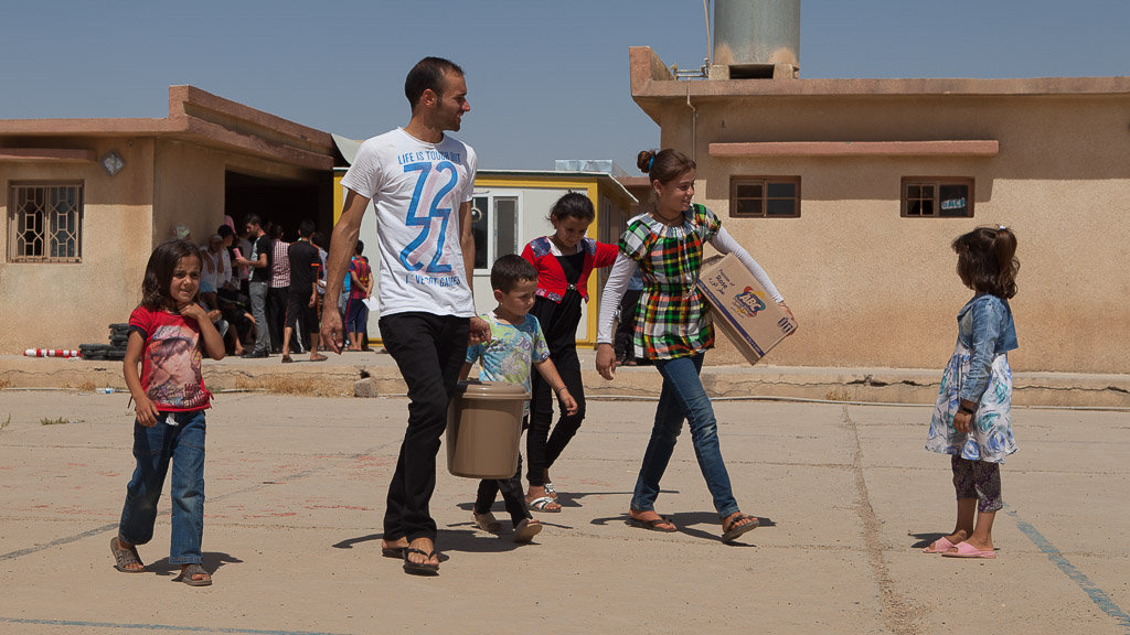 Relief for 1900 displaced families - Northern Iraq