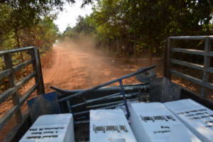 Filters On Route to Families in Rural Cambodia