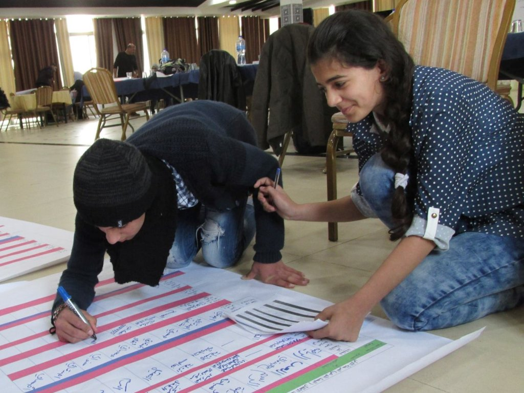 Empower Palestinian Kids to Lead Positive Change