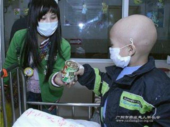 Memory lane: receiving the bean in Guangzhou...