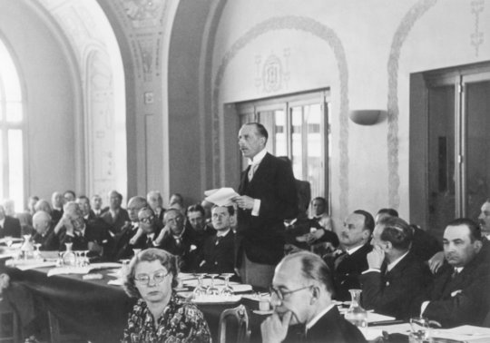 July 1938 Conference photo of country delegate
