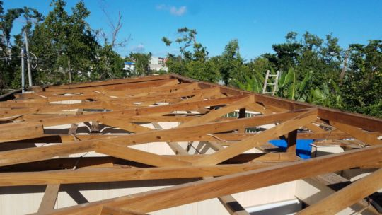 02 ANGEL Top View of Roof Support System