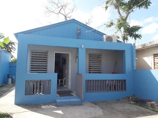 Juanita's Newly Built Roof, Exterior View