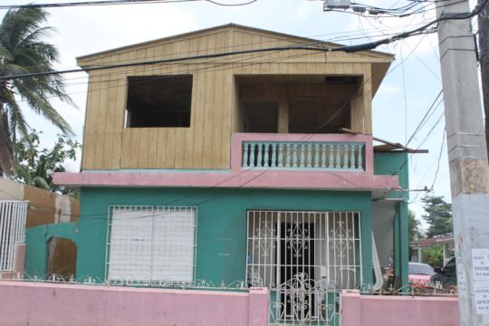 Exterior Carmen's roof