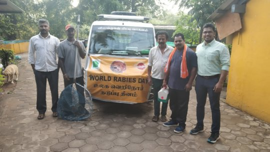 World Rabies Day Vaccination Drive