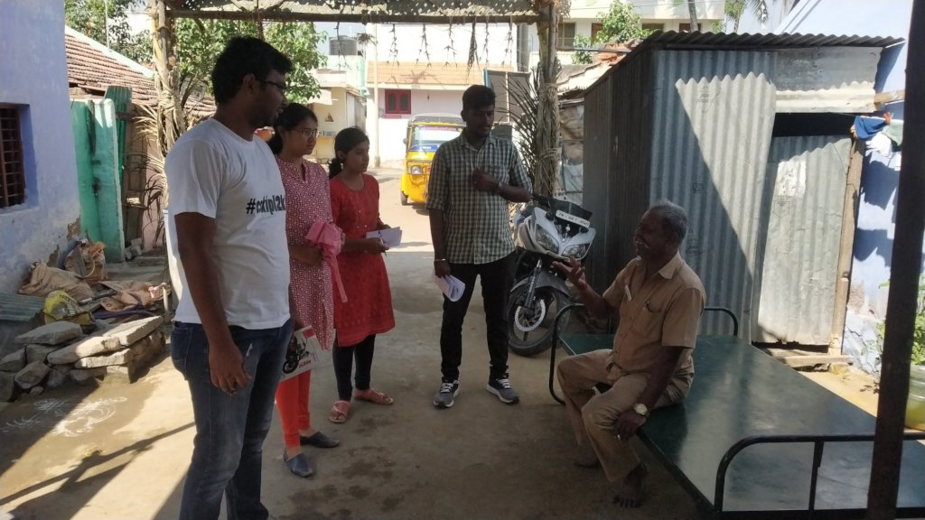Door-to-door Campaigning against Rabies