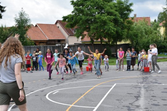 Summer camp at the Xantus Janos school in 2019