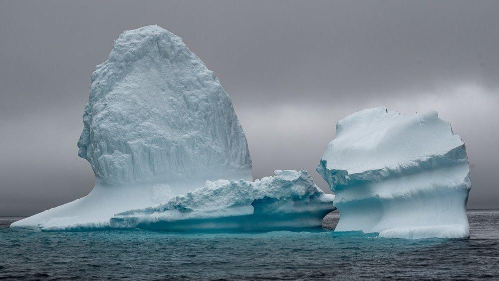 Iceberg in the Greenland Sea