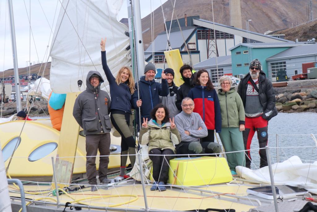 Polarquest2018  team returns in Longyearbyen