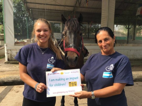 Taking part in CHW's #GivingTuesday Campaign