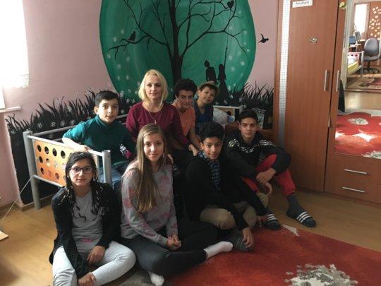 The children at Casa Mea