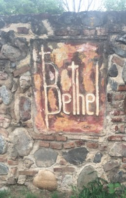 Bethel's sign(we cannot share photos of the kids)