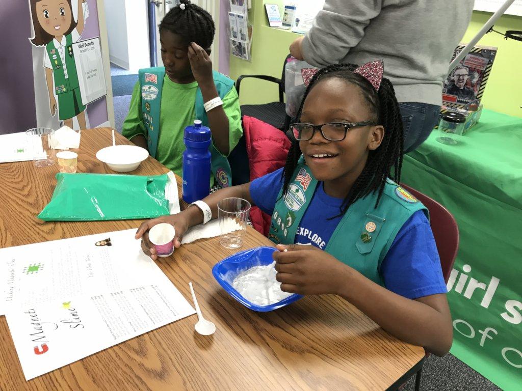 Providing STEM education to 24,000 girls in MD