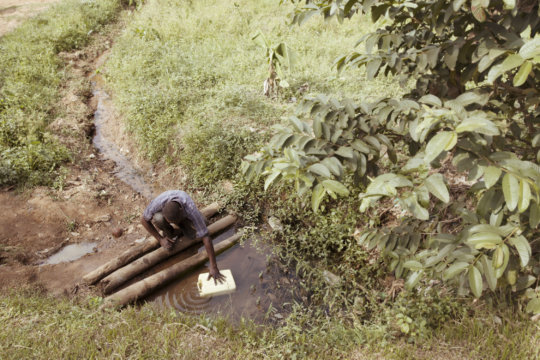 Rain Water Collection Tanks-Lweza, Uganda