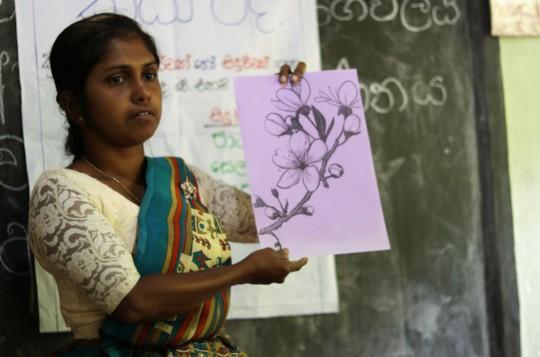 Teacher Dilrukshi