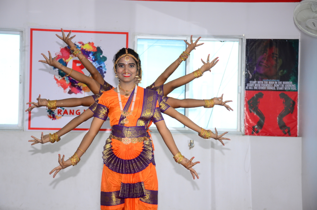 One of the Traditional Dance where the Six Girls