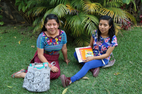 Yulissa and Chonita will graduate as teachers