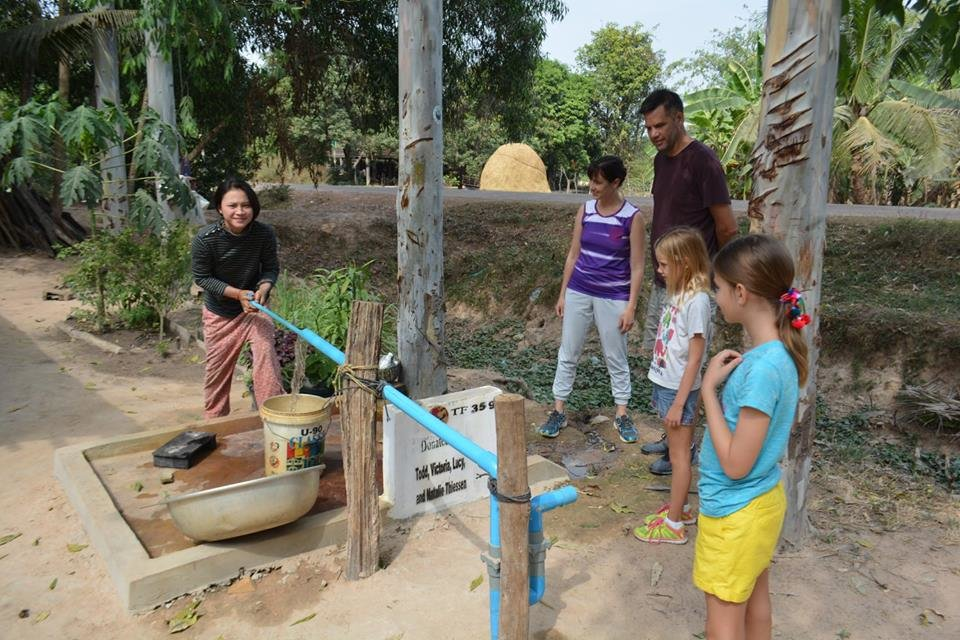 Wells - Providing Water to Cambodian Families
