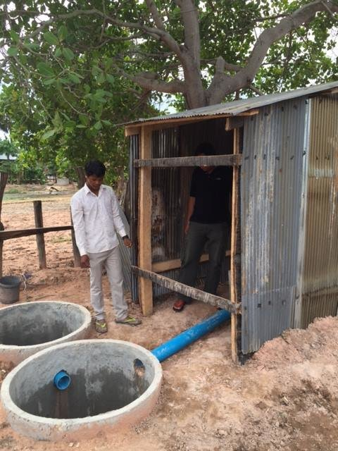 Building Latrines - Better Sanitation in Cambodia