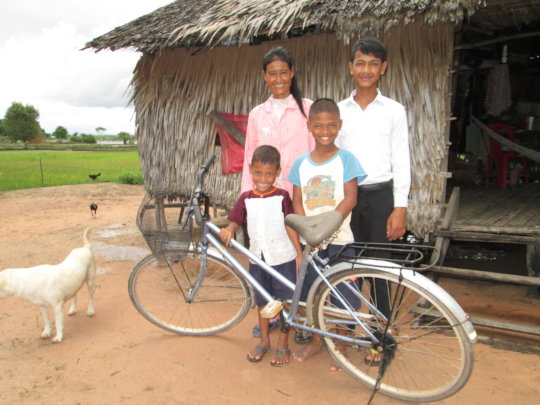 Seyha and his family