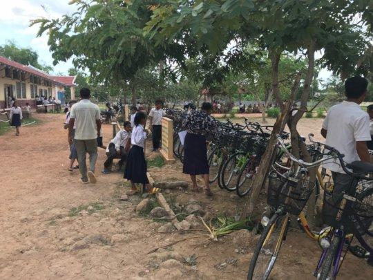 Bicycle distribution