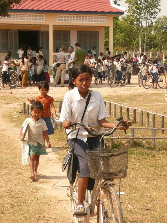 Reduce Education Barriers in Cambodia: Give a Bike
