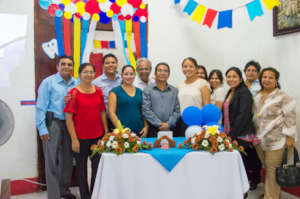 Our team on the inauguration